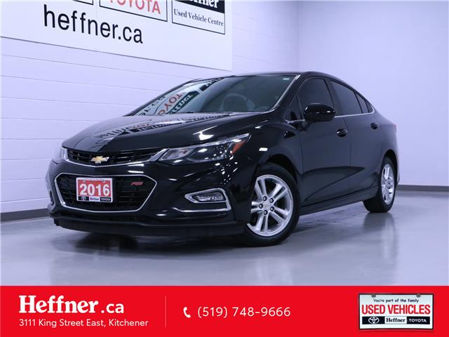 2016 Chevrolet Cruze LT Manual (Stk: 205708) in Kitchener - Image 1 of 22