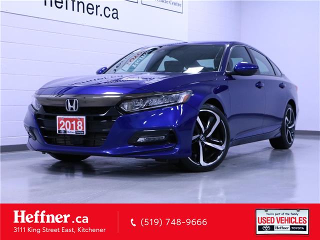 2018 Honda Accord Sport (Stk: 206069) in Kitchener - Image 1 of 22
