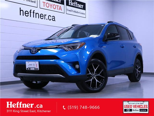2017 Toyota RAV4 Hybrid SE (Stk: 206102) in Kitchener - Image 1 of 25