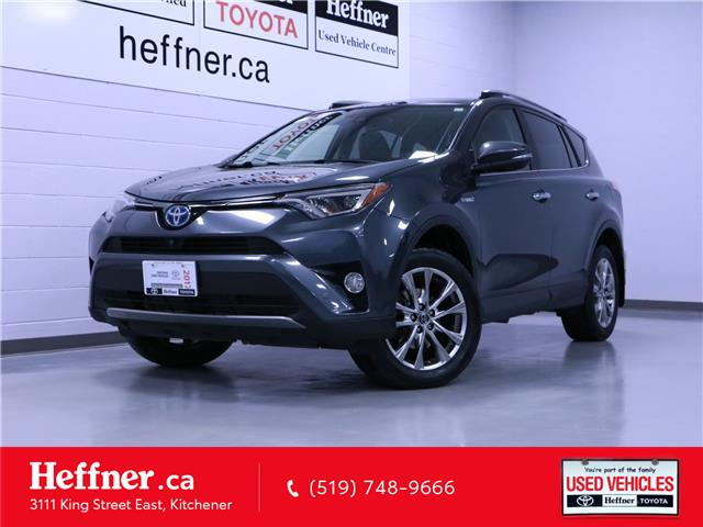 2017 Toyota RAV4 Hybrid Limited (Stk: 206064) in Kitchener - Image 1 of 24
