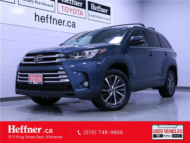2018 Toyota Highlander XLE (Stk: 215018) in Kitchener - Image 1 of 26