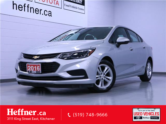 2016 Chevrolet Cruze LT Auto (Stk: 215232) in Kitchener - Image 1 of 22