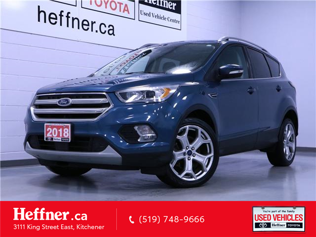 2018 Ford Escape Titanium (Stk: 215222) in Kitchener - Image 1 of 24