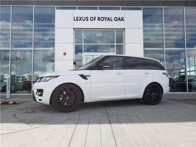 2016 Land Rover Range Rover Sport V8 Supercharged (Stk: L19595A) in Calgary - Image 1 of 27
