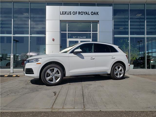 2019 Audi Q5 45 Progressiv (Stk: LU0327) in Calgary - Image 1 of 27