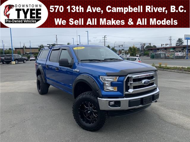 2016 Ford F-150 XLT (Stk: T19296A) in Campbell River - Image 1 of 28