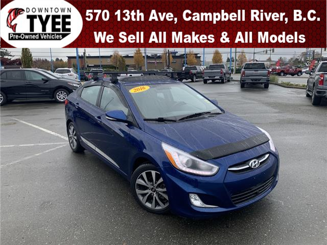 2016 Hyundai Accent SE (Stk: T20166A) in Campbell River - Image 1 of 26