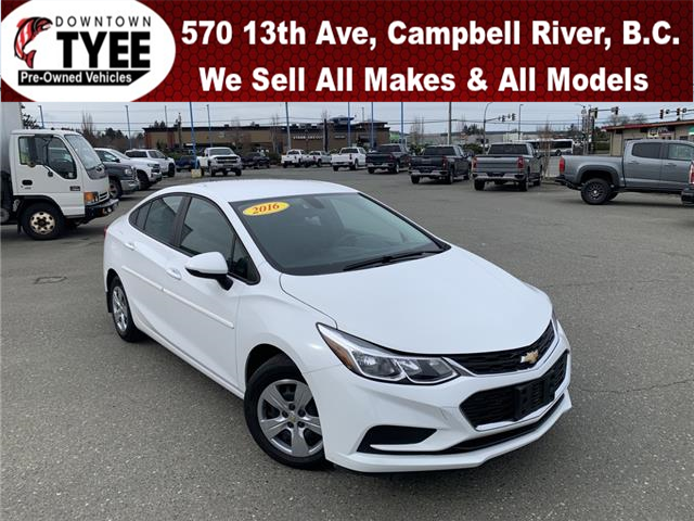 2016 Chevrolet Cruze LS Auto (Stk: T21082A) in Campbell River - Image 1 of 21