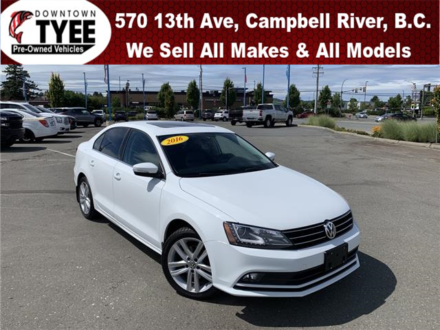 2016 Volkswagen Jetta 1.8 TSI Highline (Stk: T21042A) in Campbell River - Image 1 of 29