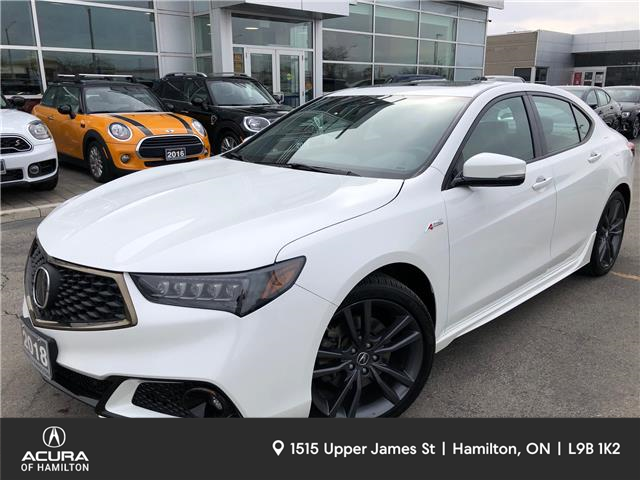 2018 Acura TLX Tech A-Spec (Stk: 1818800) in Hamilton - Image 1 of 28