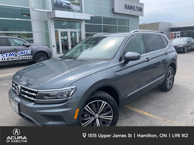 2019 Volkswagen Tiguan Highline (Stk: 1918730A) in Hamilton - Image 1 of 29