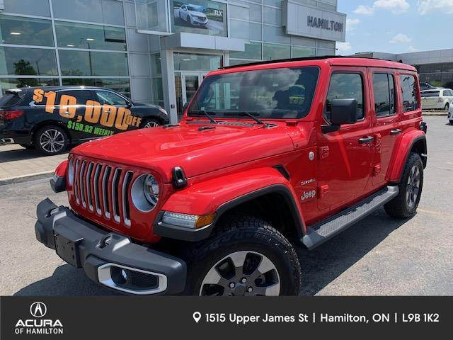 2020 Jeep Wrangler Unlimited Sahara (Stk: 2017570) in Hamilton - Image 1 of 31