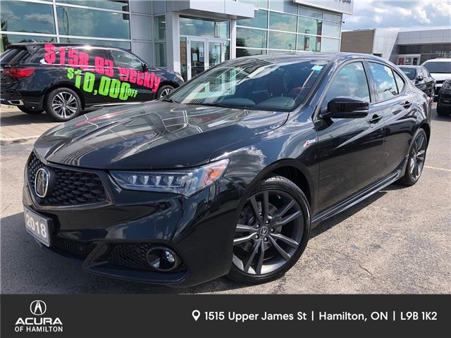 2018 Acura TLX Elite A-Spec (Stk: 1820700) in Hamilton - Image 1 of 28