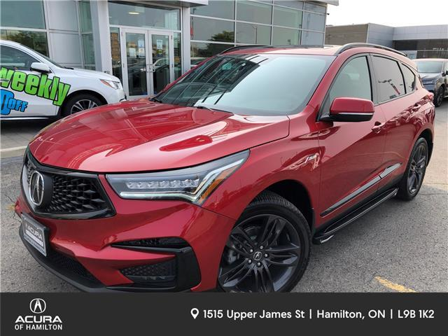 2019 Acura RDX A-Spec (Stk: 210029A) in Hamilton - Image 1 of 27