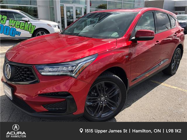 2019 Acura RDX A-Spec (Stk: ) in Hamilton - Image 1 of 28
