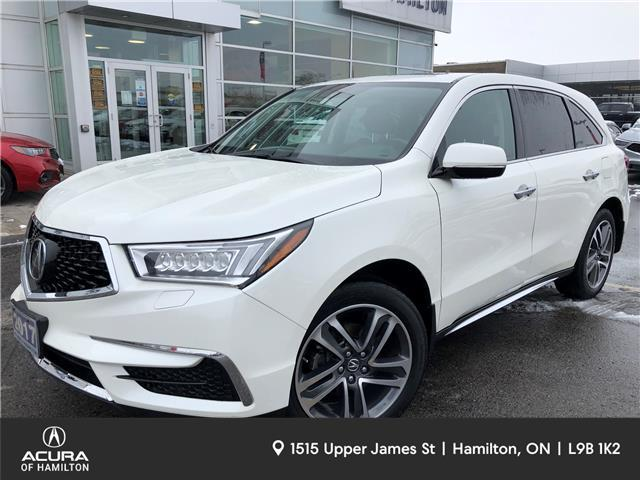 2017 Acura MDX Navigation Package (Stk: 1722630) in Hamilton - Image 1 of 28