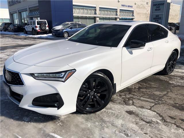 2021 Acura TLX Platinum Elite (Stk: 210065) in Hamilton - Image 1 of 29