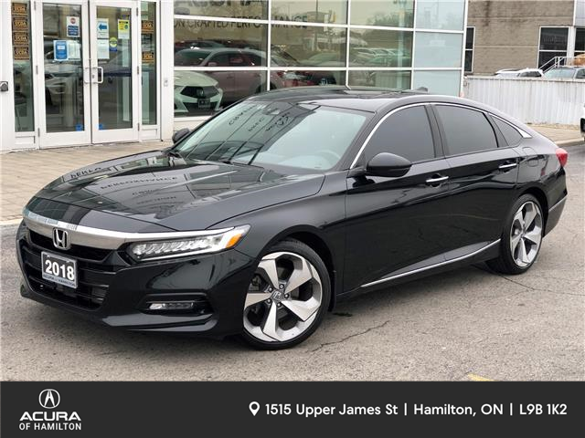 2018 Honda Accord Touring 2.0T (Stk: 210200A) in Hamilton - Image 1 of 27