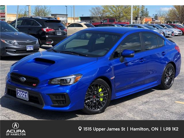 2021 Subaru WRX STI Base (Stk: 2122960) in Hamilton - Image 1 of 24