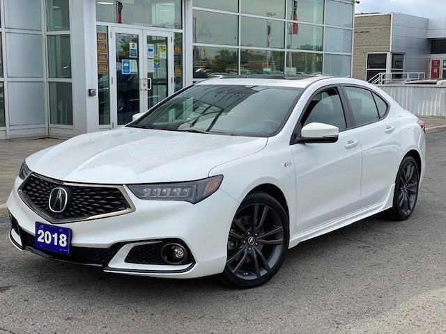 2018 Acura TLX Tech A-Spec (Stk: 1823060) in Hamilton - Image 1 of 22