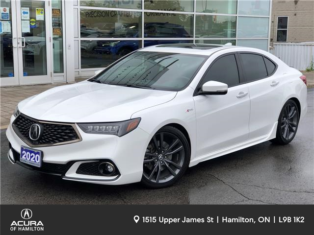 2020 Acura TLX Tech A-Spec w/Red Leather (Stk: 2023110) in Hamilton - Image 1 of 25