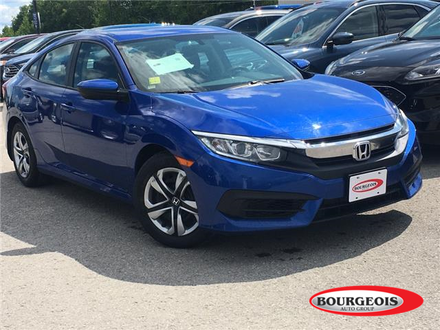2016 Honda Civic LX (Stk: 20T585A) in Midland - Image 1 of 13