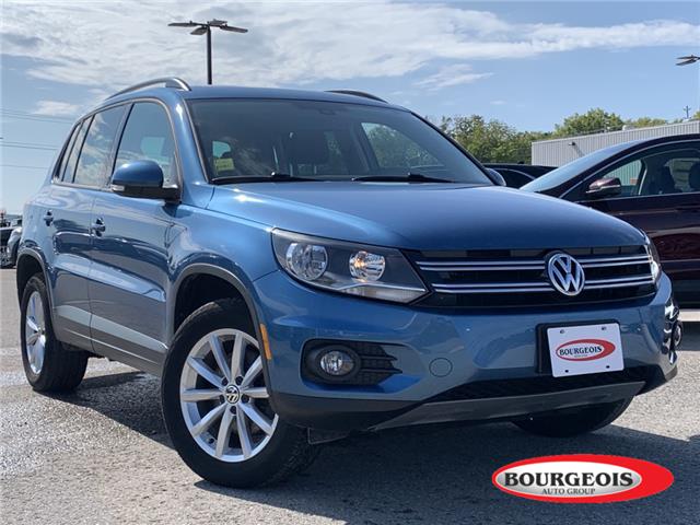 2017 Volkswagen Tiguan Wolfsburg Edition (Stk: 20T724A) in Midland - Image 1 of 16