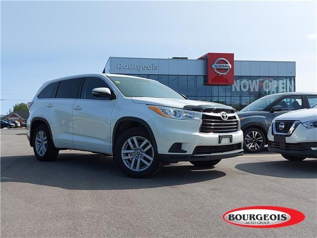 2016 Toyota Highlander LE (Stk: 00U124) in Midland - Image 1 of 14