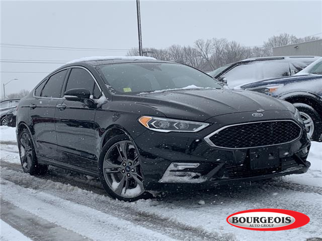 2018 Ford Fusion V6 Sport (Stk: 20T955A) in Midland - Image 1 of 13