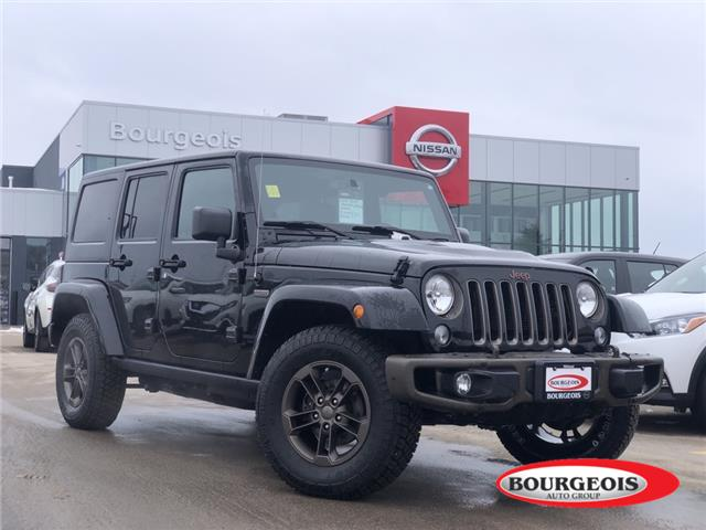 2016 Jeep Wrangler Unlimited Sahara (Stk: 00U133A) in Midland - Image 1 of 13