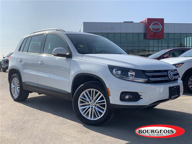 2016 Volkswagen Tiguan  (Stk: 20PA55A) in Midland - Image 1 of 18