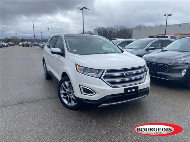 2018 Ford Edge Titanium (Stk: 21T249A) in Midland - Image 1 of 13