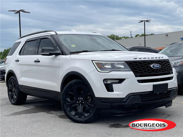 2019 Ford Explorer Sport (Stk: 21RT25A) in Midland - Image 1 of 6
