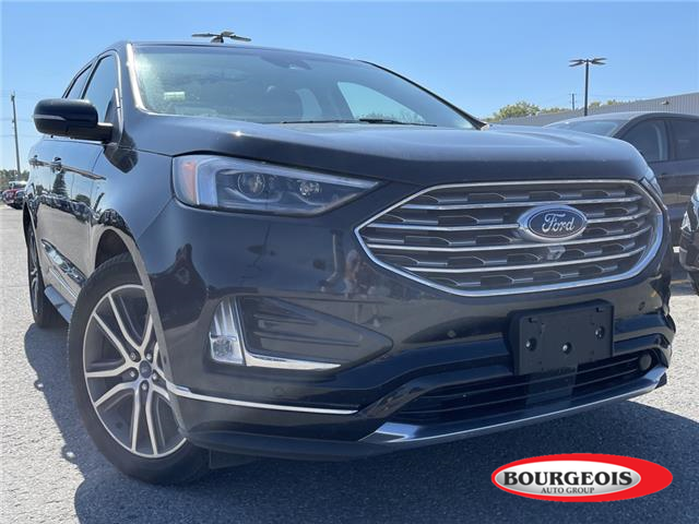 2019 Ford Edge Titanium (Stk: 21T585A) in Midland - Image 1 of 14