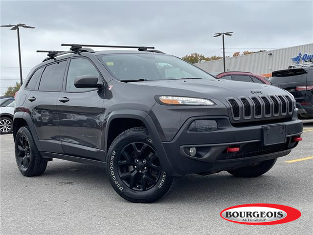 2016 Jeep Cherokee Trailhawk (Stk: 21T137A) in Midland - Image 1 of 14
