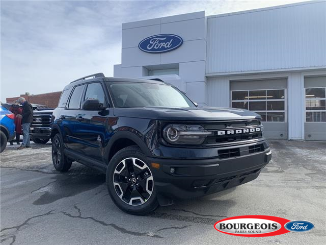2021 Ford Bronco Sport Outer Banks (Stk: 021042) in Parry Sound - Image 1 of 22