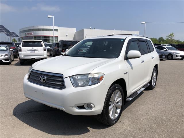 2009 Toyota Highlander Hybrid Limited (Stk: P2013A) in Whitchurch-Stouffville - Image 1 of 7