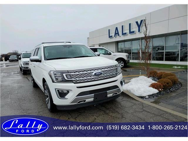 2020 Ford Expedition Max Platinum (Stk: ED26101) in Tilbury - Image 1 of 19