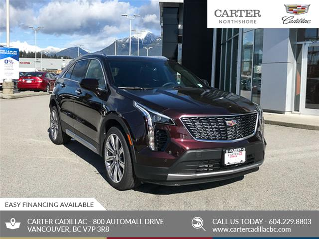 2020 Cadillac XT4 Premium Luxury (Stk: D37290) in North Vancouver - Image 1 of 24