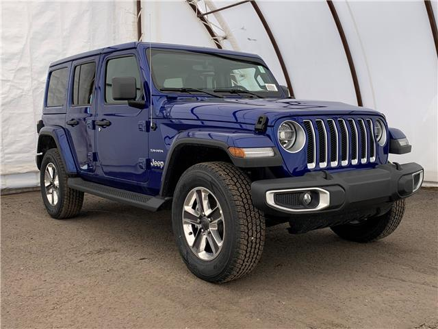 2020 Jeep Wrangler Unlimited Sahara (Stk: 200125) in Ottawa - Image 1 of 29