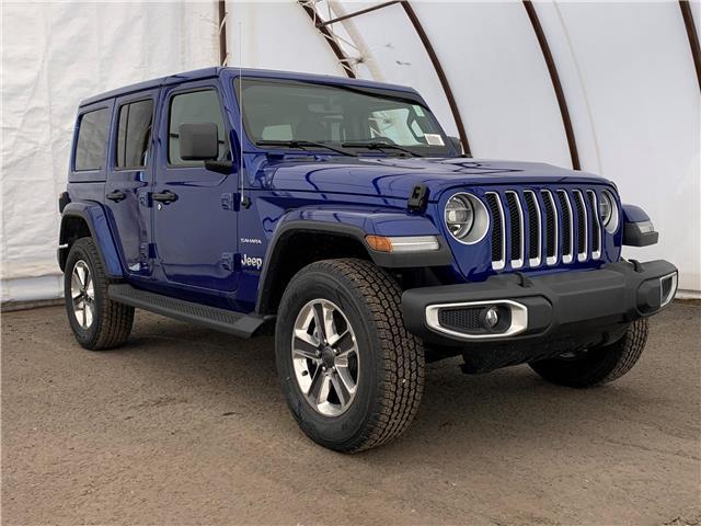 2020 Jeep Wrangler Unlimited Sahara (Stk: 200125) in Ottawa - Image 1 of 29
