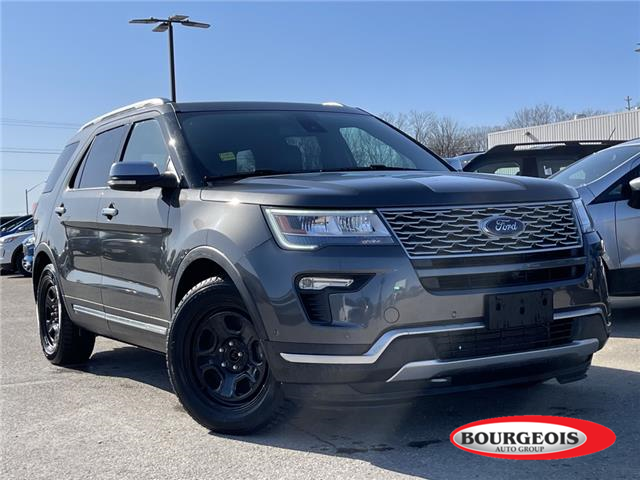 2018 Ford Explorer Platinum (Stk: 21T31A) in Midland - Image 1 of 4