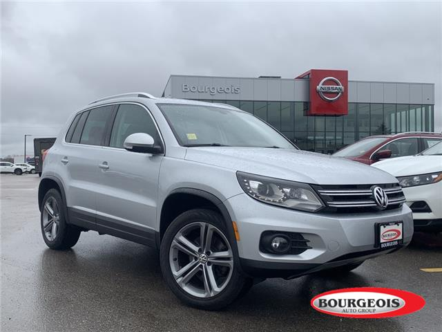 2017 Volkswagen Tiguan Highline (Stk: 00U196) in Midland - Image 1 of 22