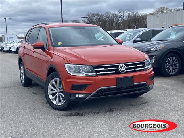 2018 Volkswagen Tiguan Trendline (Stk: 20T846A) in Midland - Image 1 of 11