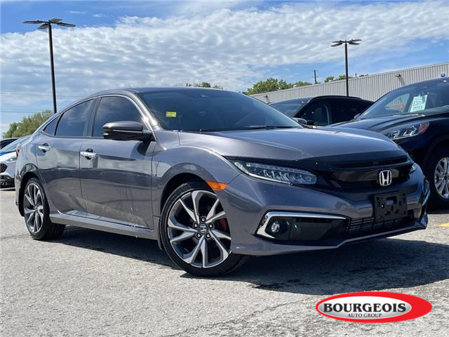 2019 Honda Civic Touring (Stk: 21RT21A) in Midland - Image 1 of 7