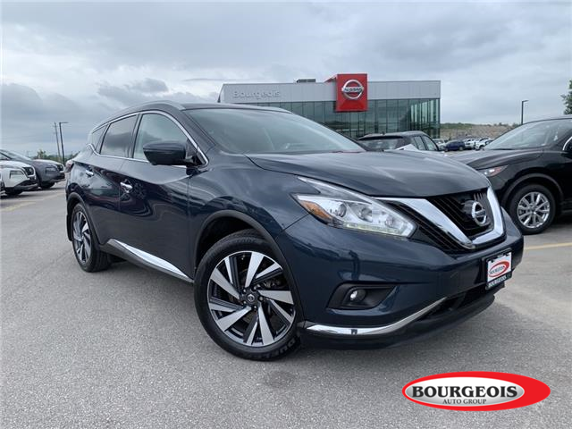 2018 Nissan Murano Platinum (Stk: 21MR29A) in Midland - Image 1 of 20