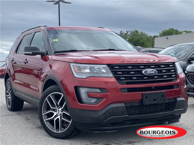 2016 Ford Explorer Sport (Stk: 0097PT) in Midland - Image 1 of 18