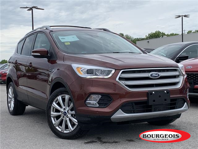 2018 Ford Escape Titanium (Stk: 20T156A) in Midland - Image 1 of 16