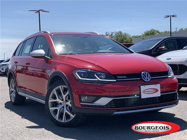 2018 Volkswagen Golf Alltrack 1.8 TSI (Stk: 20T530AA) in Midland - Image 1 of 14