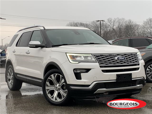 2018 Ford Explorer Platinum (Stk: 20T987A) in Midland - Image 1 of 18